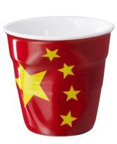 Revol Froisses Espresso Kreukbeker - 0.08 l - Vlag China