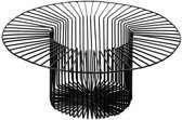 Serax Paglieta mand D40cm H16cm zwart