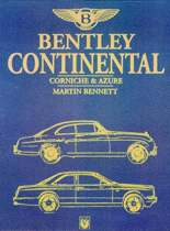 Bentley Continental, Corniche and Azure
