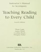 Instructor's Manual to Accompany Teaching Reading to Every Child