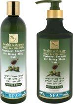 Dode zee producten - Olijfolie & honing shampoo - Parabeenvrij - 780 ml