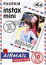 Fujifilm Fuji Instax Mini Colorfilm Airmail Enkel pak