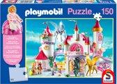 Schmidt Playmobil puzzel het kasteel van de prinses 150 stukjes