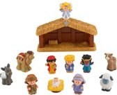 Fisher-Price Little People Nativity Kerststal - Speelfigurenset
