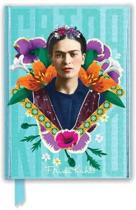 Frida Kahlo Blue (Foiled Journal)