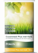 Pokon Gazonmest Plus met Kalk - 5 kg