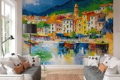Ligurië Italië  - Fotobehang 366 x 254 cm
