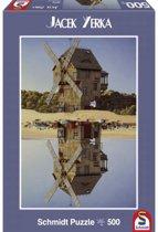 Schmidt Jacek Yerka Windmill Reflections 500