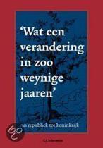 'Wat Een Verandering In Zoo Weynige Jaaren'