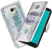 Dollar booktype wallet case Hoesje voor Samsung Galaxy J4 2018