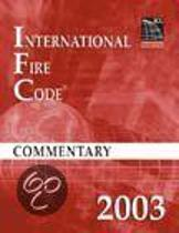 2003 International Fire Code Commentary