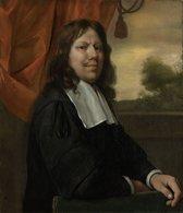 Jan Havicksz. Steen - Zelfportret - 100x115cm Textielframe