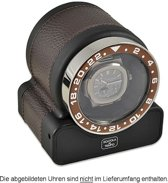 Scatola del Tempo Watchwinder Rotor One Sport Dark Brown d