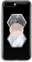 iPhone 7 Plus Transparant Hoesje (Soft) - Creatieve toets