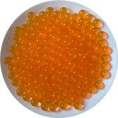 Fako Bijoux® - Orbeez - Waterabsorberende Balletjes - 8-9mm - Oranje - 500 Stuks