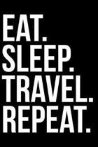 Eat. Sleep. Travel. Repeat.