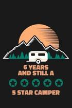 6th Birthday Camping Journal