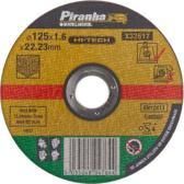 Piranha Doorslijpschijf steen, 1,6 mm. x 125mm X32617