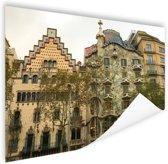 Architectuur van Gaudi Poster 120x80 cm - Foto print op Poster (wanddecoratie)