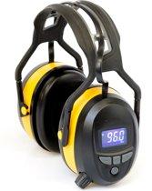 Bouwsales Gehoorbeschermer met digitale radio bluetooth en ingebouwde MP3.