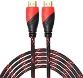 HDMI kabel 3 meter - HDMI naar HDMI - 1.4 versie - 1080P High Speed - HDMI 19 Pin Male naar HDMI 19 Pin Male Connector Cable - Red line