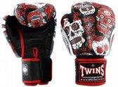 Twins (kick)bokshandschoenen Fantasy 4 Red Skull 12oz