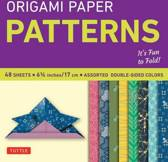 Origami Paper - Patterns - Small 6 3/4 - 49 Sheets