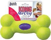 Kong Air Dog Squeaker Bone Small - Bal - 102 mm x 89 x 34 mm - Geel