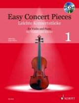 Easy Concert Pieces for Violin and Piano + CD