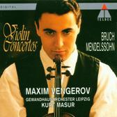 Mendelssohn, Bruch: Violin Concertos / Vengerov, Masur