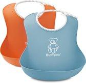 BabyBjörn Zachte Slab - Oranje/Turquoise - Duopak