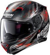 Nolan N87 Carnival 84 Flat Black Red Anthracite  Integraalhelm - Motorhelm - Maat L