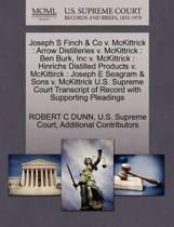 Joseph S Finch & Co V. McKittrick