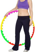 Fitness Massage Magneet Hoelahoep - Sport Hula Hoop - Gym Ab Workout Weight Hoola Hoepel - 100CM