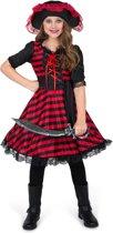 Atlantische piraat kostuum voor meisjes - Verkleedkleding