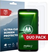 Rosso Motorola Moto G7 Plus Ultra Clear Screen Protector Duo Pack
