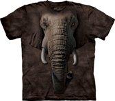 Wilde dieren T-shirt olifant S