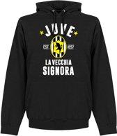 Juventus Established Hooded Sweater - Zwart - S