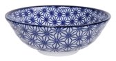 Tokyo Design Studio Nippon Blue Soba Bowl 21x7.8cm 1.1l Star
