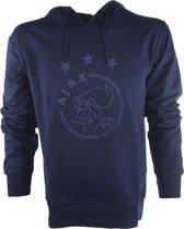 Ajax hooded sweater kinderen - blauw - maat 116