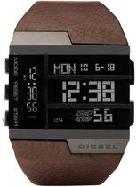 Horlogeband Diesel DZ7189 Leder Bruin 46mm