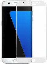 Samsung Galaxy S7 Full Cover 3D (wit) glazen screenprotector