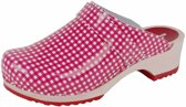 BigHorn 6006 Ruit Rood Clogs Dames 41
