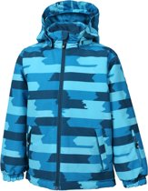 Color Kids Dikson Padded Wintersportjas - Maat 152  - Unisex - aqua/ blauw
