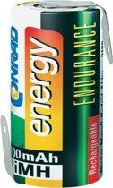 Conrad 251255 huishoudelijke batterij Rechargeable battery Nikkel-Metaalhydride (NiMH)