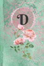 Personalized Monogrammed Letter D Journal