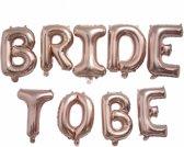 Bride To Be ballonnen | Ballonnen Set Bride To Be | Helium Ballonnen | Vrijgezellenfeest | Wedding Ballon