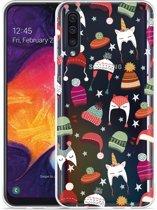 Galaxy A50 Hoesje Winter Hats