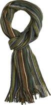 Michaelis heren sjaal - groen gestreept