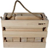 Bex Kubb Viking Original In Houten Kist - Rubberhout